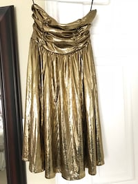 Golden Tube Dress. Size Small Vaughan, L4L 0A3