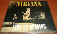 Nirvana Live at Reading 1992 (CD) Burlington