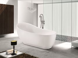 "Pedestal Freestanding Bathtub (67""): 20% OFF (no tax)"