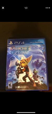 Ratchet Clank PS4 game case Los Angeles, 90077