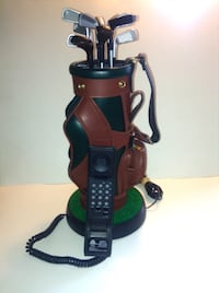 Executive Replica Golf Bag Novelty Phone
