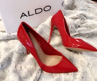 Brand new hot red Aldo pumps ! All sizes available !  Montréal, H1N