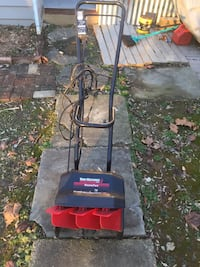 Black and gray craftsman pressure washer 63 km