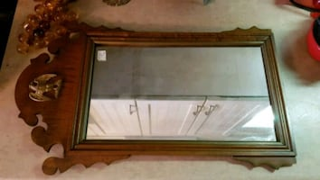 Antique Mirror with Eagle Detail