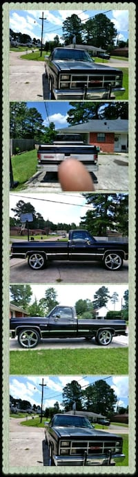 blue extra cab pickup truck Pineville
