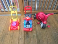 toddler's three assorted ride on toys Germantown, 20874
