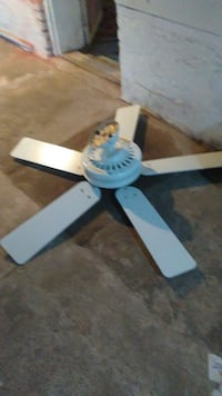white 5 bladed ceiling fan Paramus, 07652