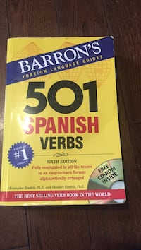 501 Spanish verbs Boston, 02125