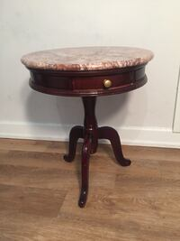 Marble Top End / Side Table Boca Raton