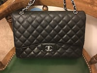 Black Chanel caviar leather flap Maxi quilted bag Naperville, 60563