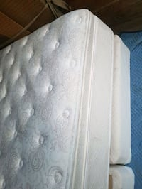 KING SIZE PILLOW TOP MATTRESS AND BOX SPRING 250.0 London, N6J 1W6
