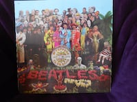 Album 33 T The Beatles Sgt. Pepper's lonely hearts club band PARIS