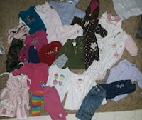 toddler's assorted clothes Highland Charter Township, 48357