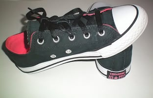 Converse All Star Low Top Junior Shoes Size 2