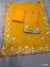 yellow and white floral textile New Delhi, 110019
