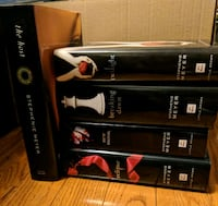 Twilight series and The Host by Stephenie Meyer Vaughan, L4H