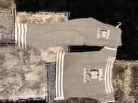 gray and white crew-neck t-shirts Hampstead, H3X 1G7