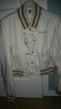 white button-up long-sleeved shirt Orleans, K4A