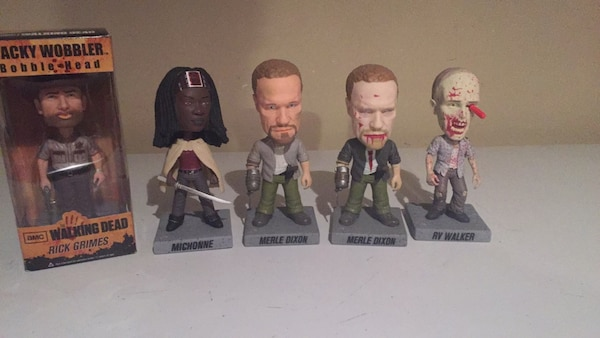 The Walking Dead wacky wobblers by funky