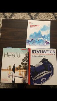 Stats & Biology Textbooks READ DESCRIPTION FOR PRICES Niagara-on-the-Lake