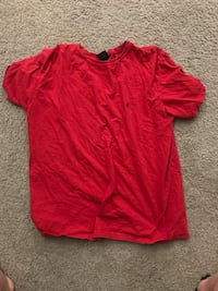 Ralph Lauren red size large cotton blend  47 km