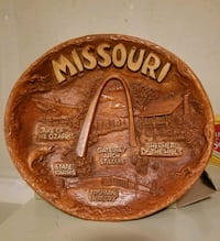 $25 wooden Missouri collector platter  Ballwin, 63021