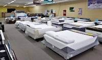Half Off, New Mattresses And Adjustables set up in the store for you to try!!! Charlotte
