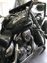 black and gray motor scooter Inverness, 34453