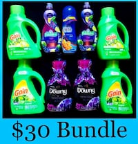 Gain laundry detergent downy Palmovile purex $30 Los Angeles, 90033