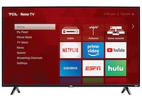 TCL 4K Roku TV almost new New York, 10044