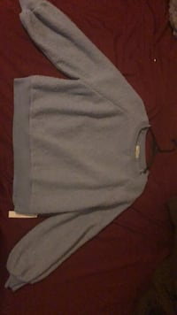 "Large ""Warm and Cozy"" brand sweater New York, 10468"
