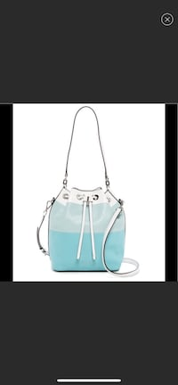 Michael Kors Dottie Large Bucket Bag Azure/Celedon Wayne, 07470