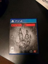 Evolve Ps4 (Unused)  Bristow, 20136