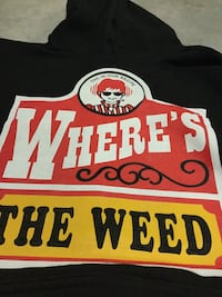 """Wendys Style """"Where's The Weed"""" hood Peterborough, K9H 1K4"""