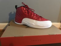 air jordan 12 gym red with box (brand new) Potomac, 20854
