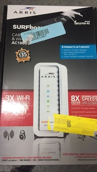 Arris Surfboard router box Burlington, L7T 0M6