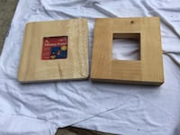 4 wooden picture frames  Murrieta, 92562