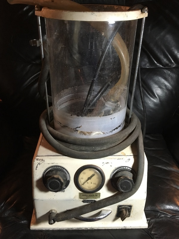 1950s funeral embalming machine by turner