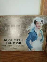 Gone with the wind tin poster Hudson, 28638