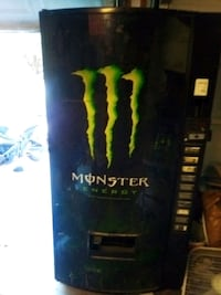 Monster energy vending machine