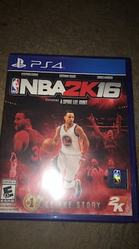 PS4 NBA 2K16 game case Washington, 20019