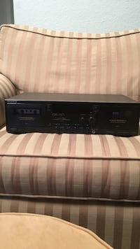 Black sony cassette player vintage and works