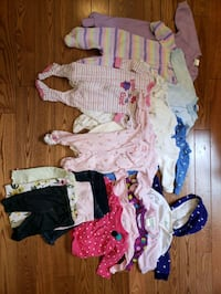 Baby girl clothing 3 -6 months