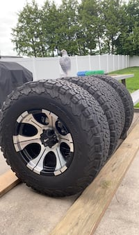 5 tires and rims in great shape 5 lug fits jeeps Frederick, 21701