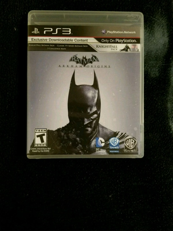 Ps3 Batman Arkham Origins