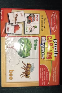 New Melissa & Doug Rhymes Puzzle Cards Columbia, 21045