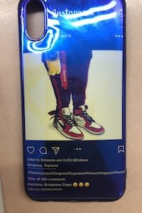 iPhone X phone case Jordan