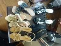 Assorted womens shoes