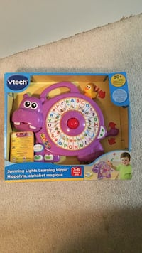 Vetch Spinning Lights Learning Hippo