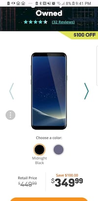 Samsung Galaxy 8 plus with cracked screen - AT&T Middleburg, 32068